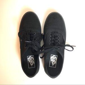 Vans Era Sneakers LIKE NEW - Black